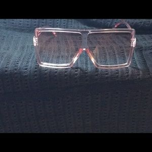 Accessories - Classic Pink Lens Shades UV400